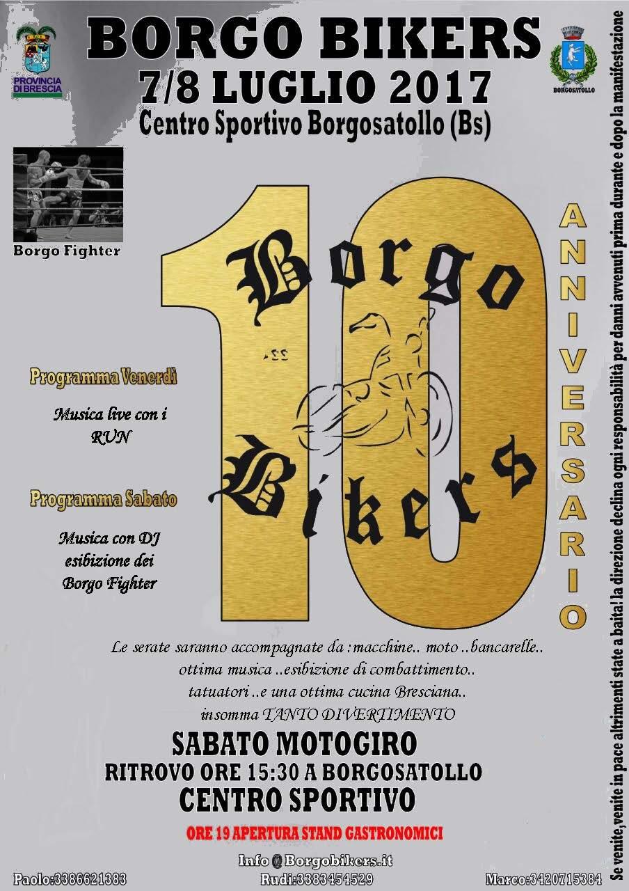 10 Festa Borgo Bikers