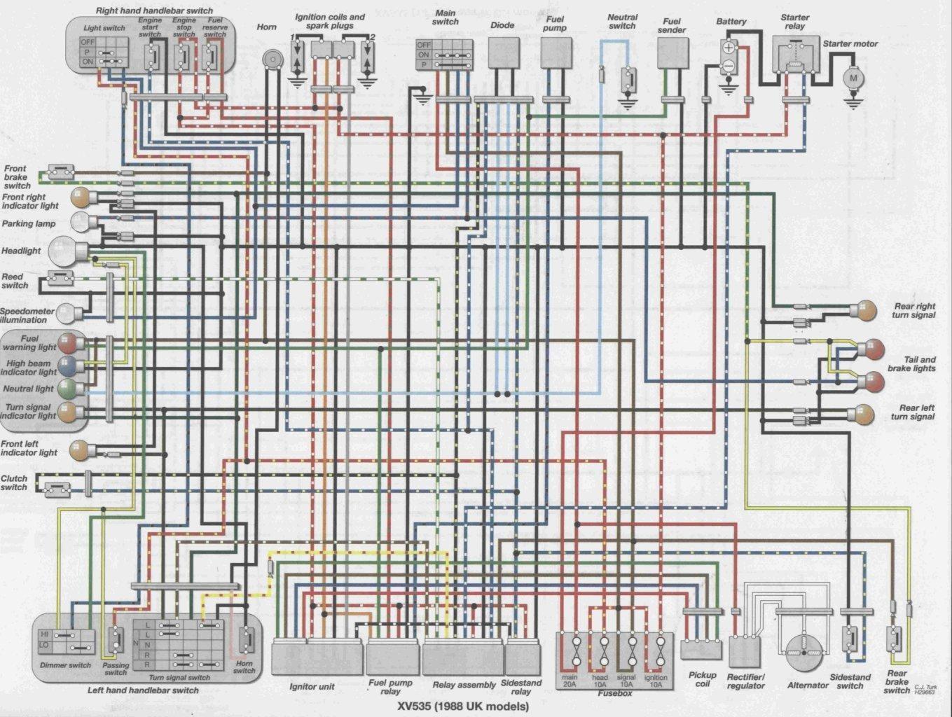 88-uk-xv535 Xs Wiring Diagram on