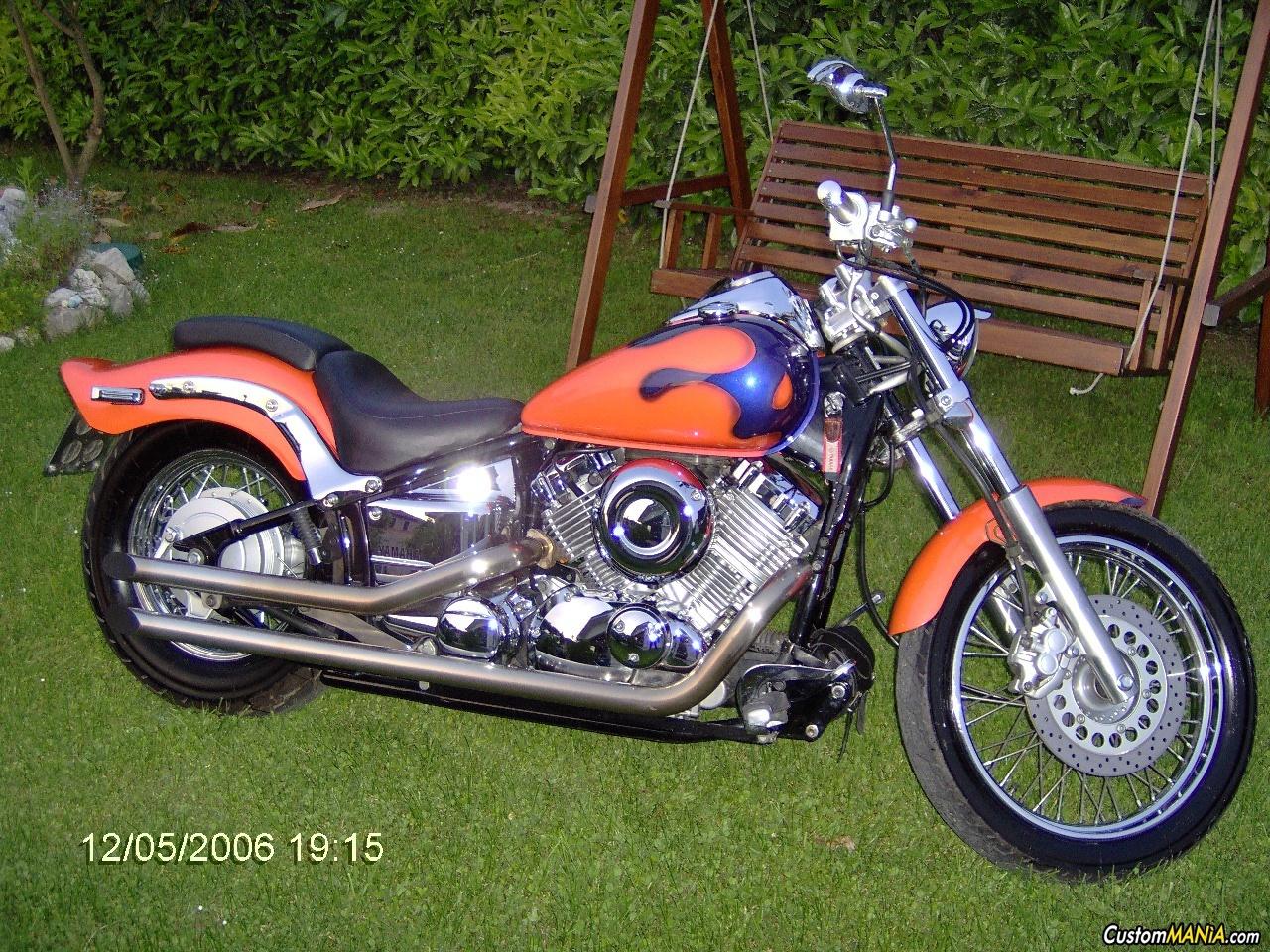 Schema Elettrico Yamaha Dragstar 650 : La vecchia arancione custommania