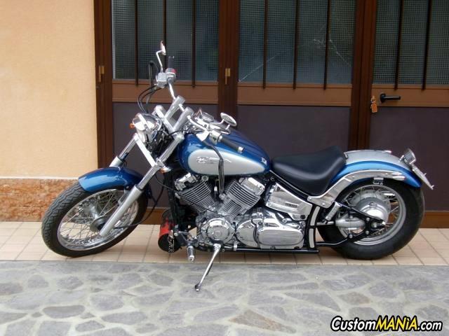 Schema Elettrico Yamaha Dragstar 650 : Sogno blu custommania