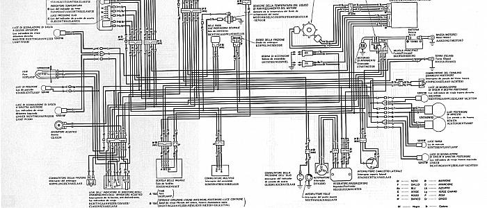 Schema Elettrico Honda Hornet : Revisione vt telaio rigido custommania