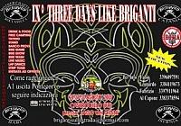IX° Three days like Briganti