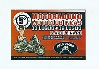 5°MOTORADUNO MOTOCLUB INCAS
